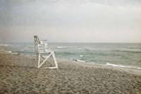 Lifeguard Chair at Dawn Fine-Art Print