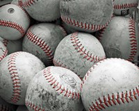 Vintage Baseballs Fine-Art Print