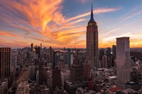 9-11 New York Sunset 2 Fine-Art Print