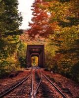 New England Train Trestle Bridge Fine-Art Print