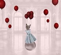 Ball with Balloons Fine-Art Print
