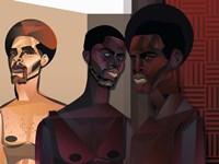 Three Men Fine-Art Print