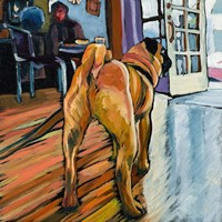A Pug's View Fine-Art Print