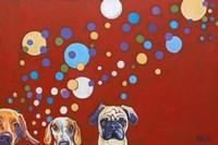When Dogs Drink Fine-Art Print