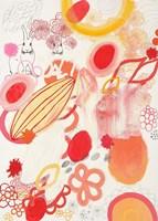Funnie Bunnies Go To Space Fine-Art Print