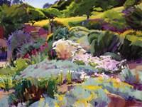 Hillside Garden Fine-Art Print