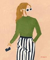 Green Mockneck Fine-Art Print