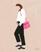 Hot Pink Handbag Fine-Art Print
