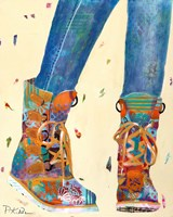Hiking Boots Fine-Art Print