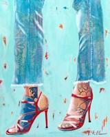 Red Heels Fine-Art Print