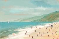 Santa Monica Beach Fine-Art Print