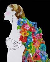 Flower Hair Fine-Art Print