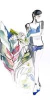 Lingerie Lady Fine-Art Print