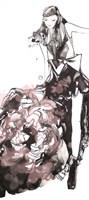 Peony Dress Fine-Art Print
