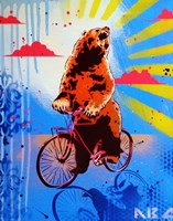 Bear Back Rider Fine-Art Print