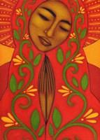 Red Madonna Fine-Art Print