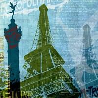 Paris (French Blue) Fine-Art Print