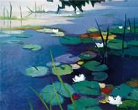 Water Lilies Fine-Art Print