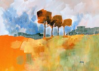 Four Trees Fine-Art Print
