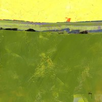 Hot Sky over Lazy Fields Fine-Art Print