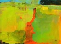 Orange Path Fine-Art Print