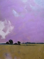 Over the Fields to the Distant Sea Fine-Art Print