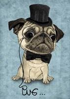 Gentle Pug Fine-Art Print