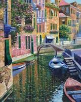 Romantic Canal Fine-Art Print