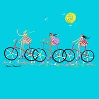 Tour de Girls Fine-Art Print