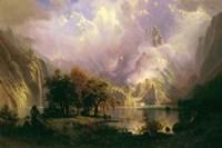 Rocky Mountain Landscape Fine-Art Print