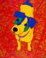 Feisty Jack Russell Fine-Art Print
