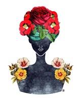 Flower Crown Silhouette III Fine-Art Print