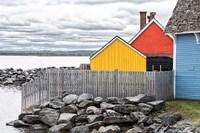 Coastal Geometry Fine-Art Print