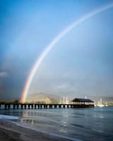 Rainbows at Hanalei II Fine-Art Print