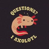 Axolotl Questions Fine-Art Print