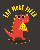 Eat More Pizza Fine-Art Print