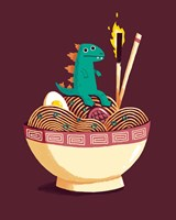 Guardian of the Noodles Fine-Art Print