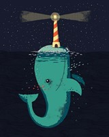 King of The Narwhals Fine-Art Print