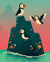 Puffin Rock Fine-Art Print