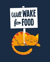 Will Wake for Food Fine-Art Print