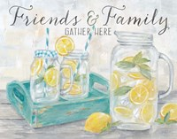 Friends and Family Country Lemons Landscape Fine-Art Print
