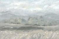Country Meadow Landscape Neutral Fine-Art Print