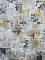 Silver Gray Gold Abstract Fine-Art Print