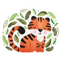 Safari Cuties Tiger Fine-Art Print