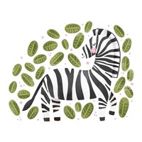 Safari Cuties Zebra Fine-Art Print