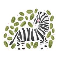 Safari Cuties Zebra Fine-Art Print