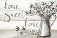 Farmhouse Cotton Home Sweet Home Fine-Art Print