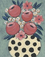 Jamboree Floral I Fine-Art Print