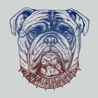 Gritty Bulldog Fine-Art Print
