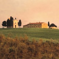 Evening Light, Tuscany Fine-Art Print